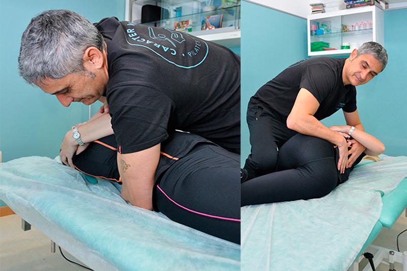 osteopatía para sanar el dolor