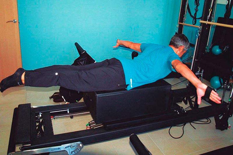 Pilates con máquinas