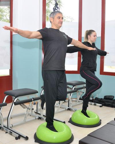 Pilates con máquinas en Vallecas